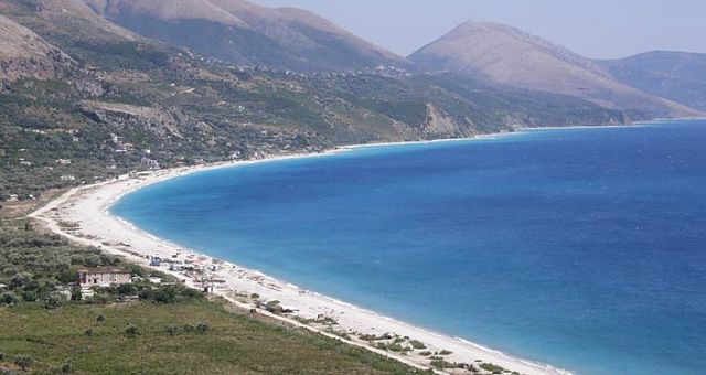 Albánie u moře