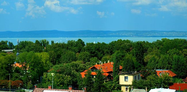 jezero Balaton, Maďarsko