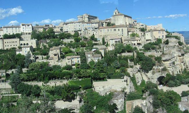 Vesnička v Provence
