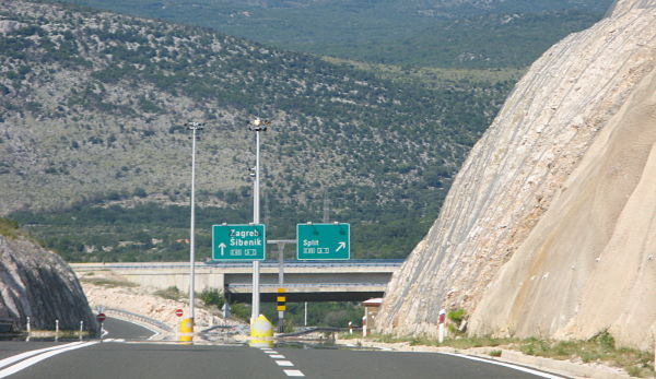 Cesta do Chorvatska